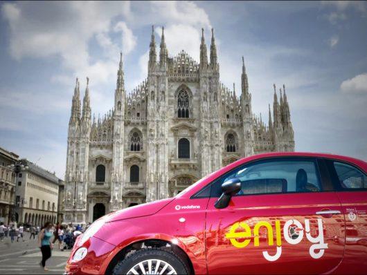 Enjoy: tutti i servizi di car shafing a milano