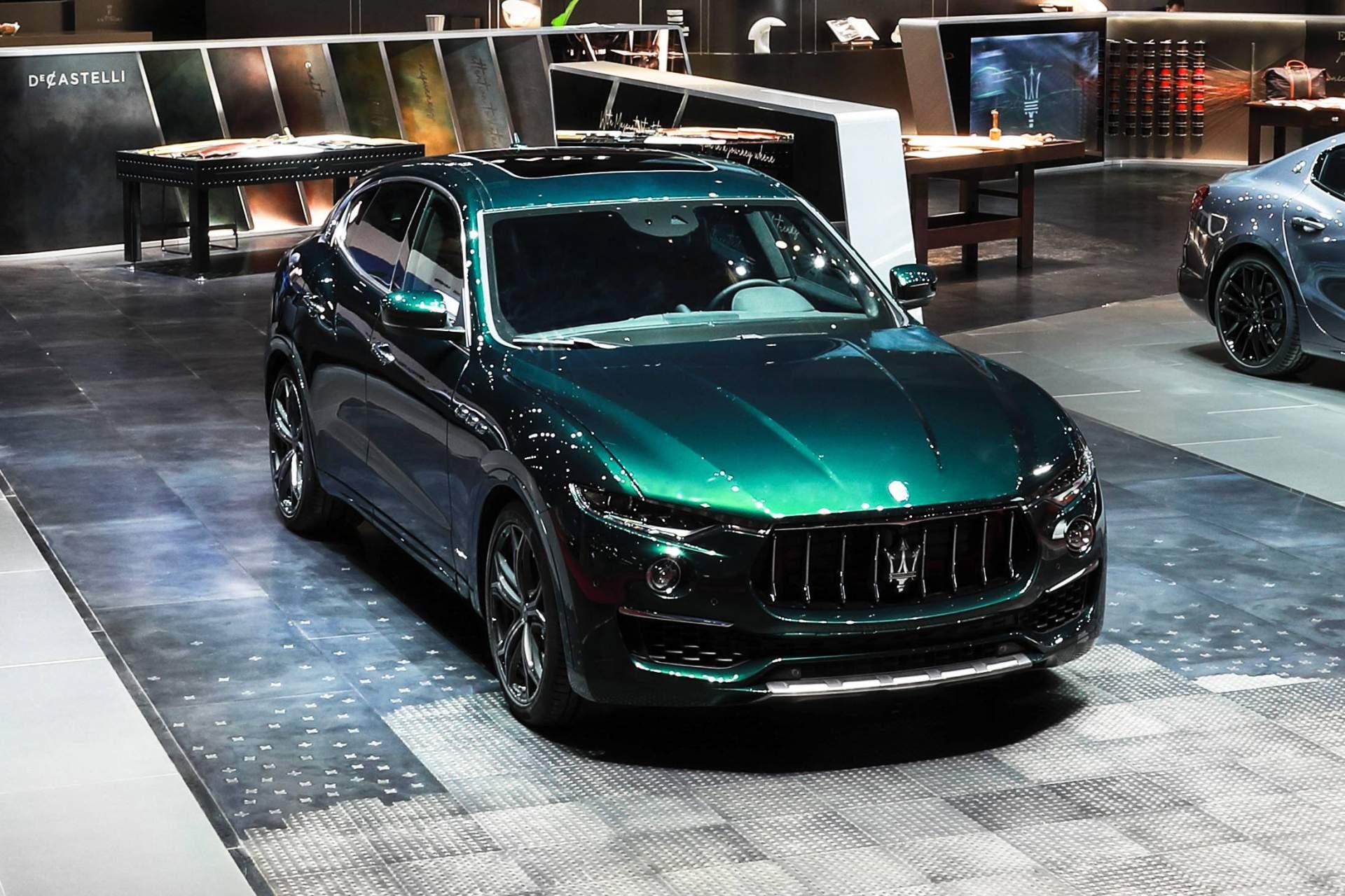 Maserati Levante One of One alla Milano Design Week 2019