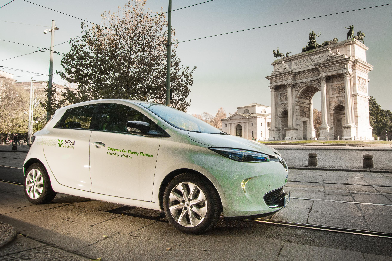 ReFeel eMobility: tutti i servizi di car sharing al Milano