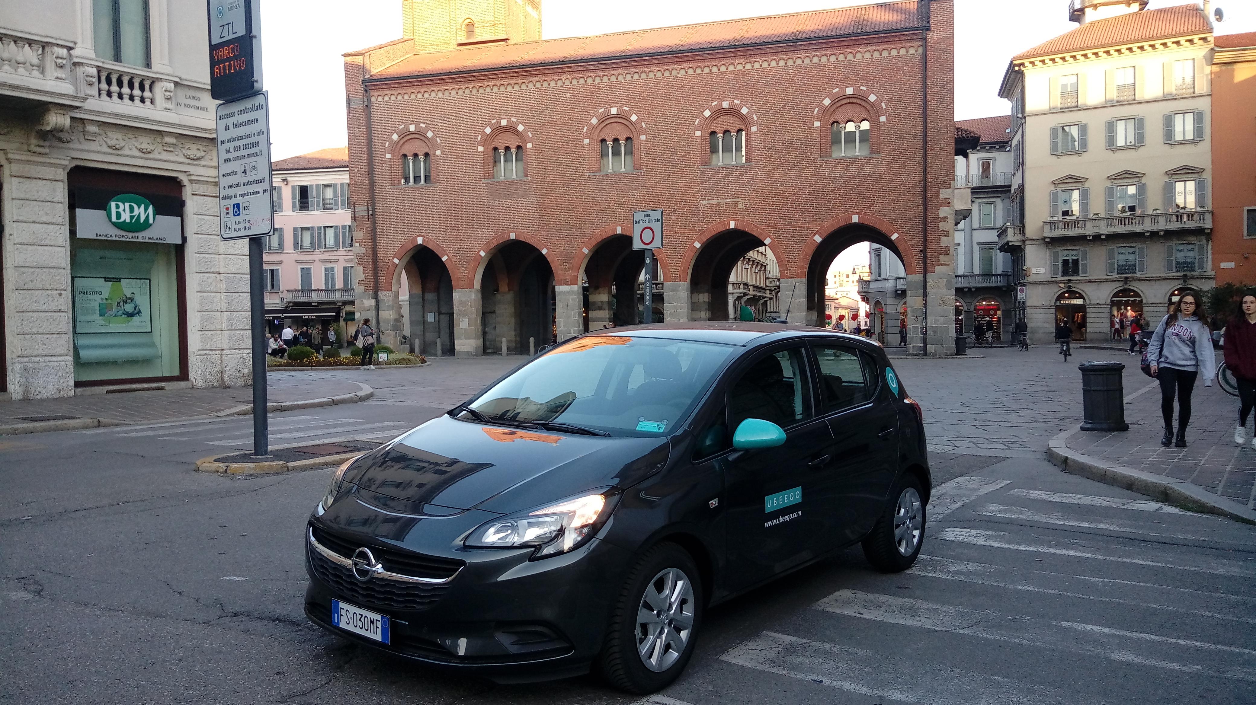 Ubeeqo car sharing station based: tutti i servizi di mobilità condivisa a Milano