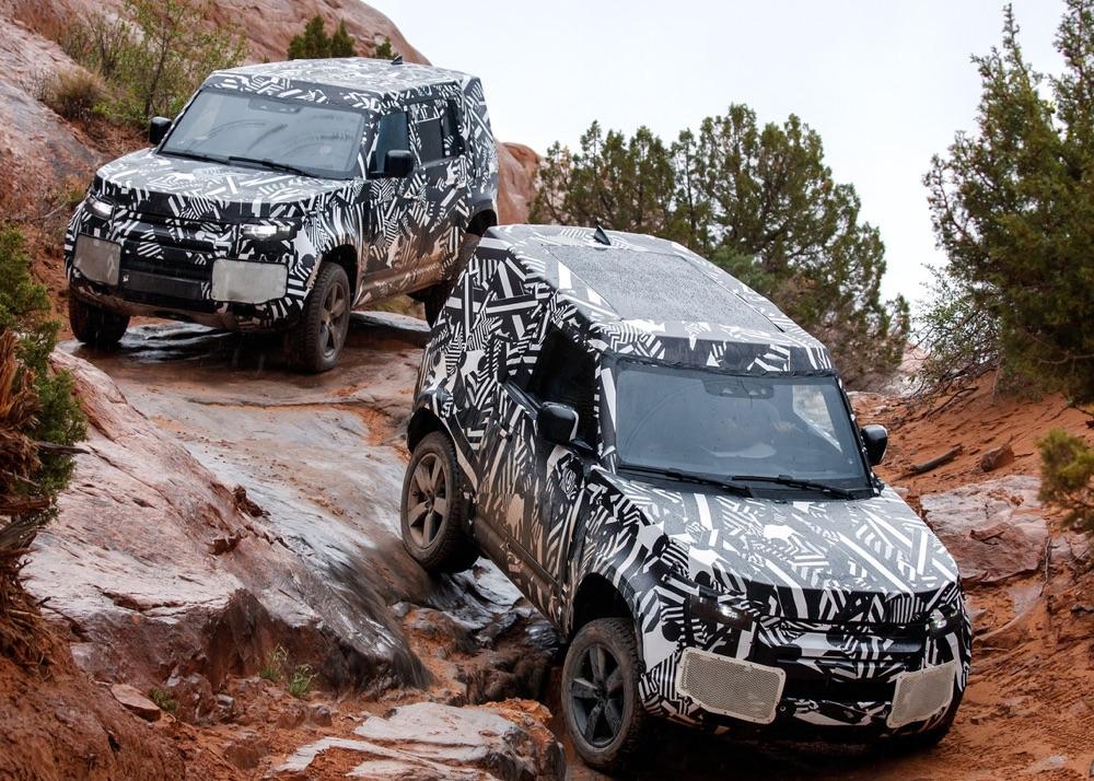 ADAS su Nuova Land Rover Defender 2020