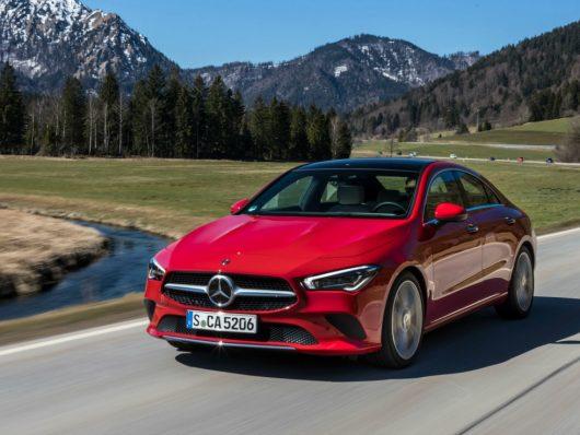 Allestimenti nuova Mercedes CLA Coupe