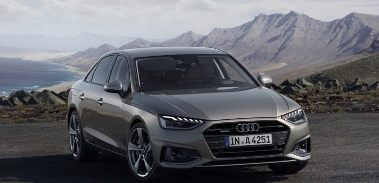 Audi A4 restyling 2019