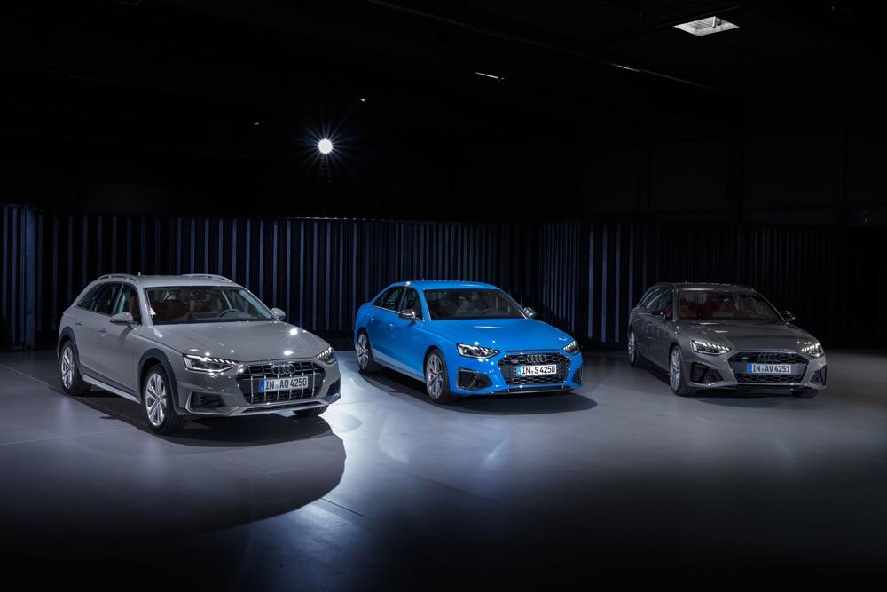 Audi A4 restyling