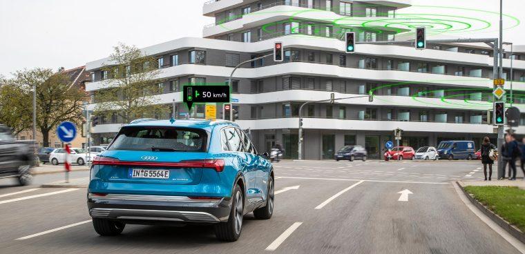 Audi Traffic Light Information modelli