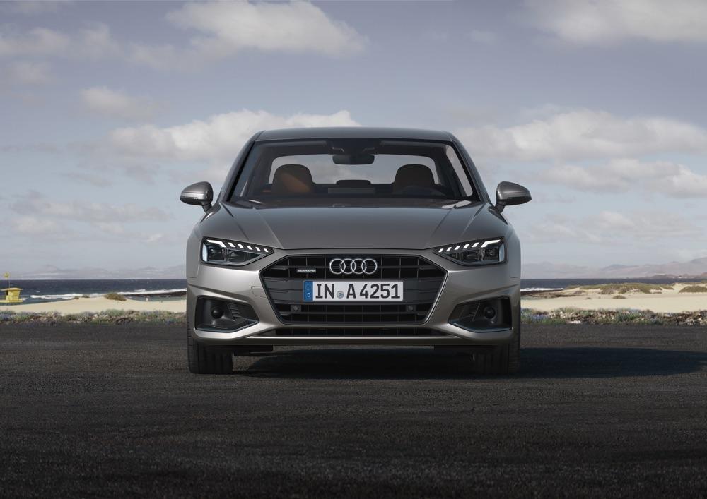Car-to-X di Audi A4 restyling 2020