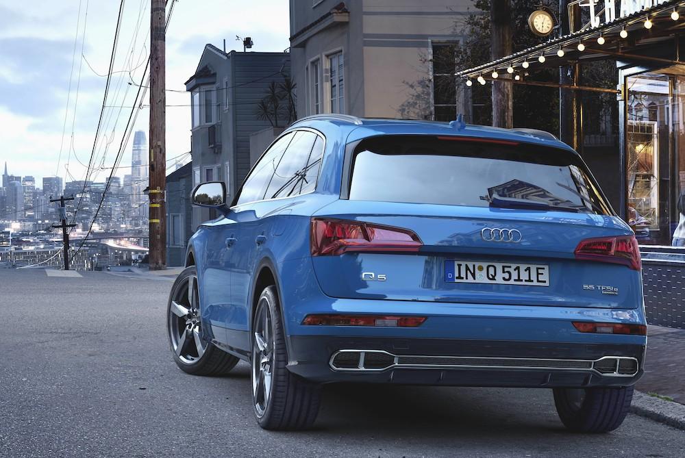 Caratteristiche di Audi Q5 ibrida plug-in