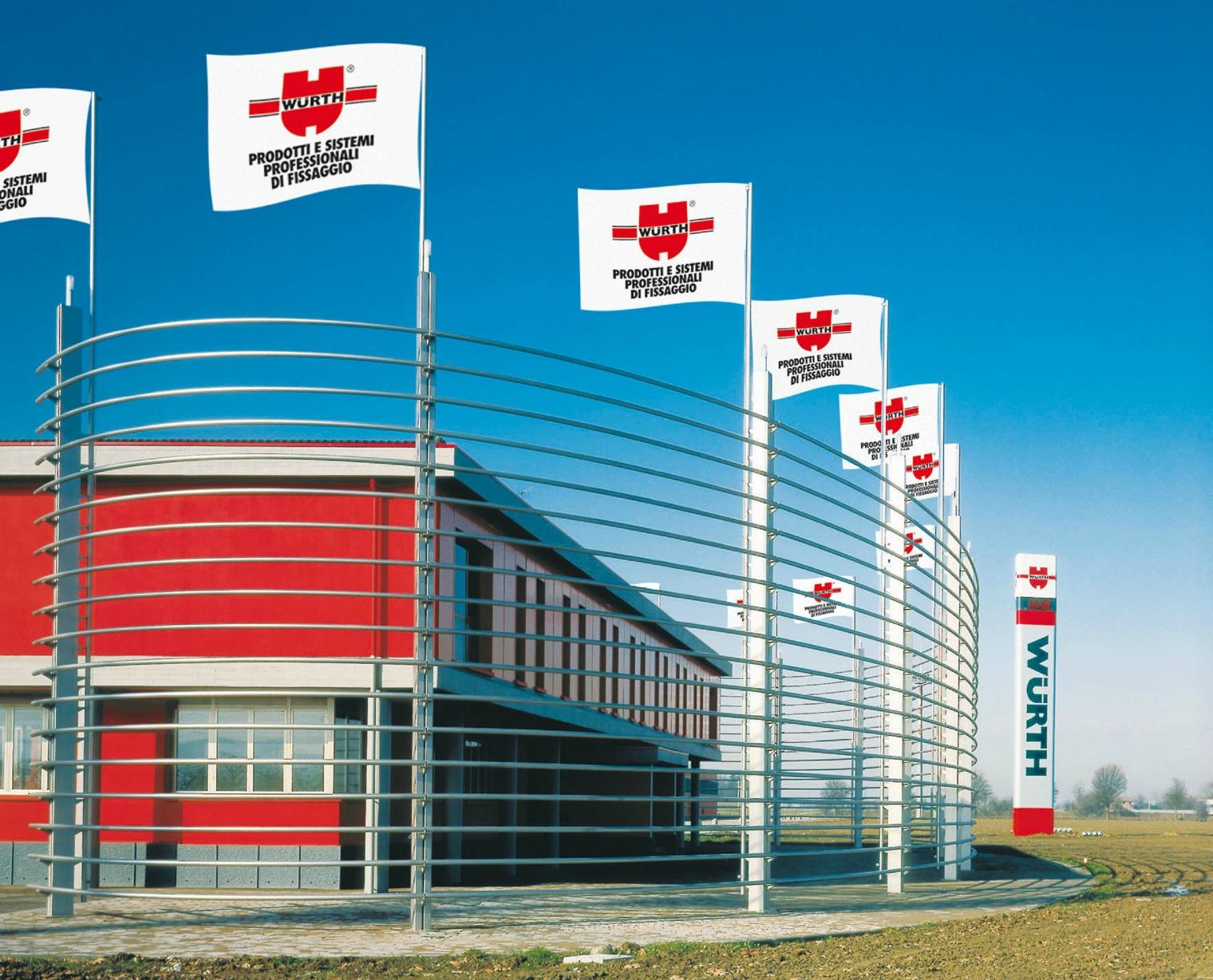 centro logistico Wurth