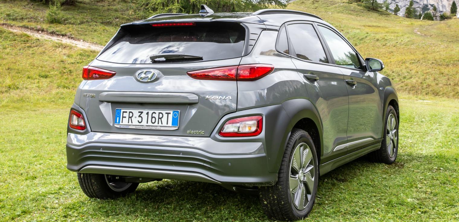 Esterni nuova Hyundai Kona Electric
