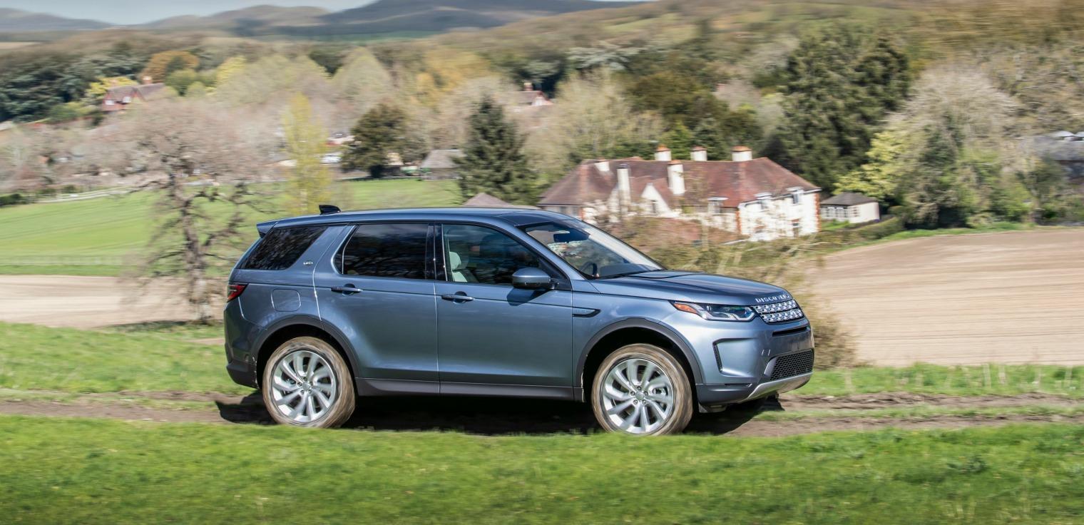 Esterni nuova Land Rover Discovery Sport