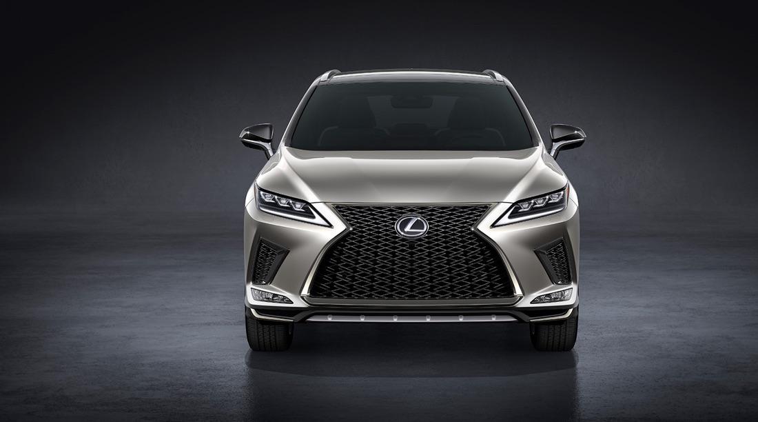 Fari led BladeScan di Lexus RX 2020