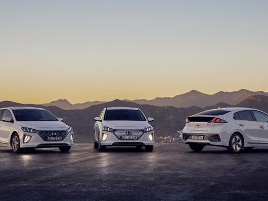 Hyundai Ioniq ibrida 2020