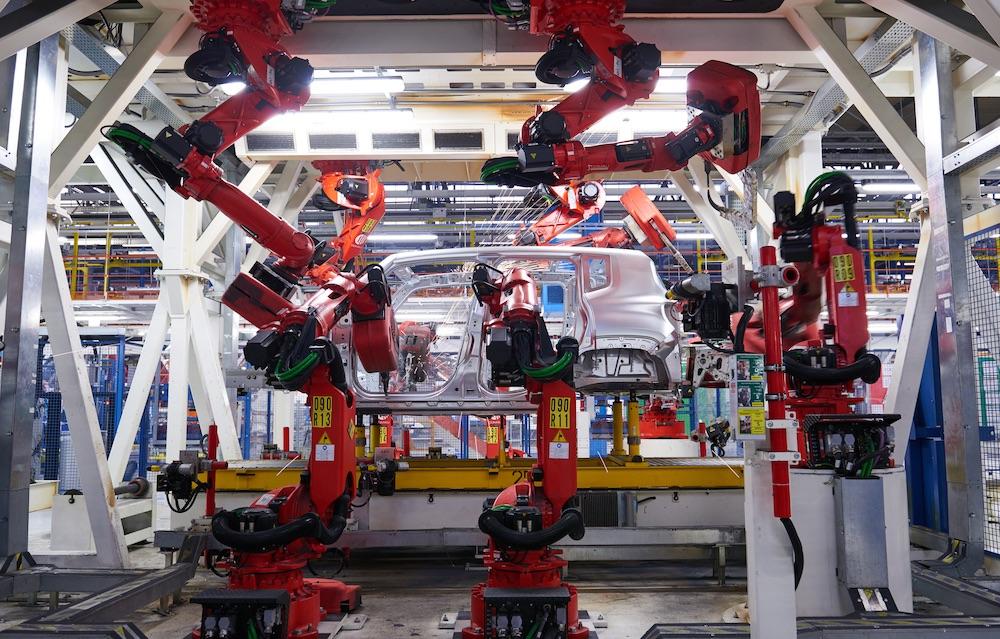 Impianto produzione Jeep