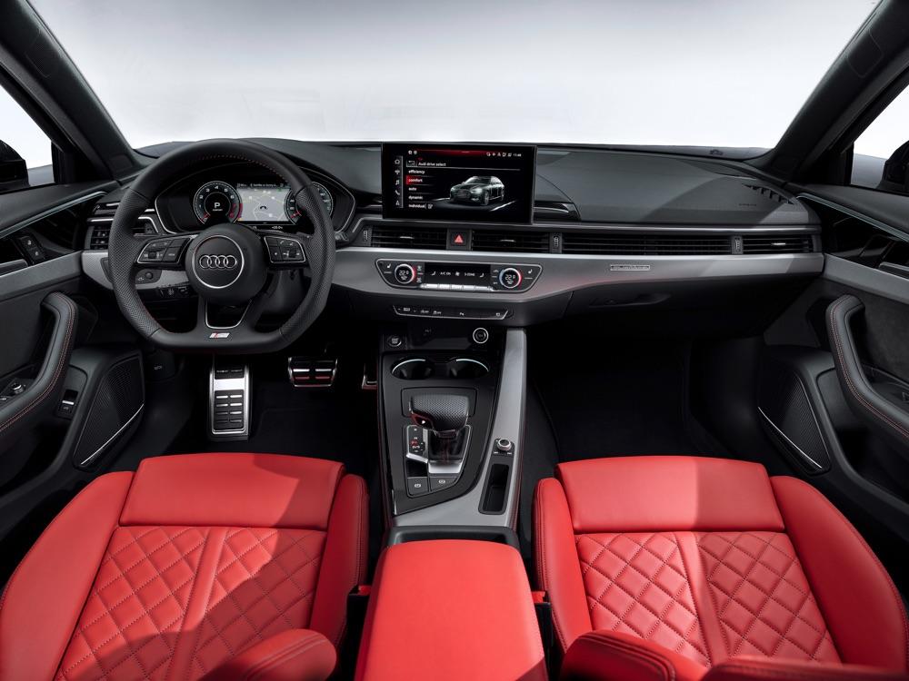 Interni Audi S4 2019
