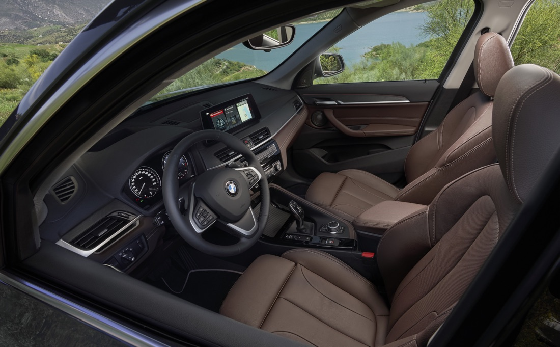 Interni di BMW X1 restyling 2019