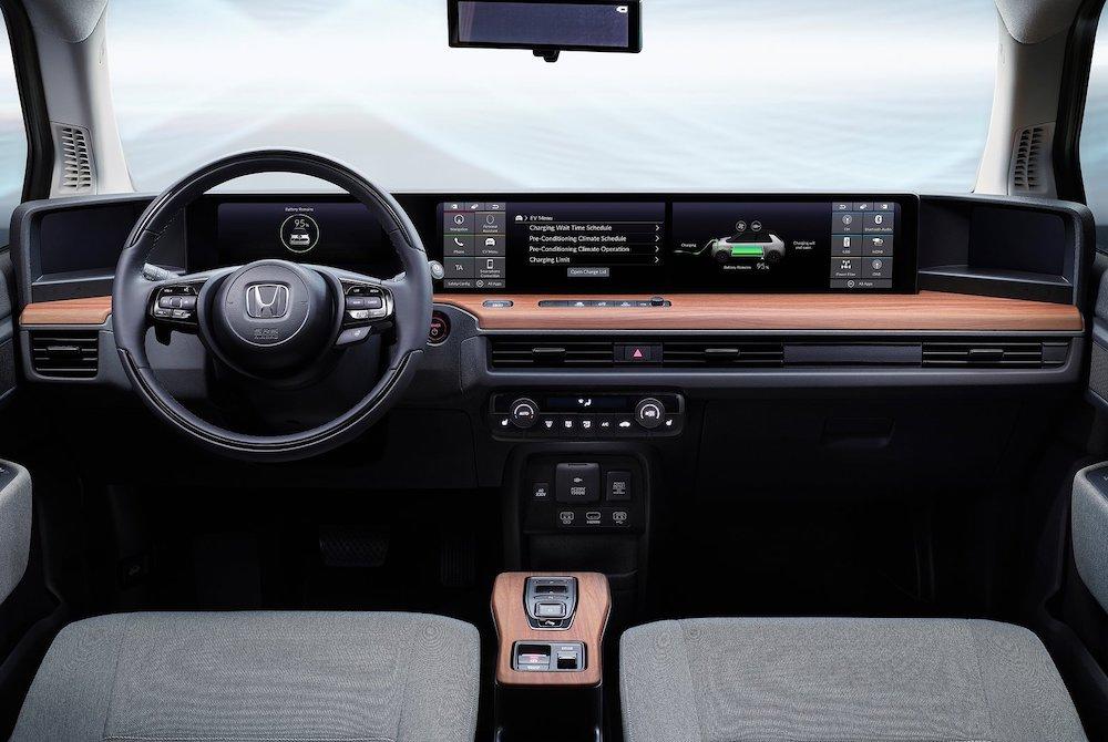 Interni di Honda e-Prototype 2019