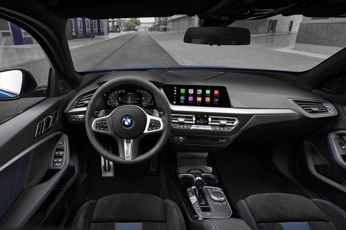 Interni di Nuova BMW Serie 1