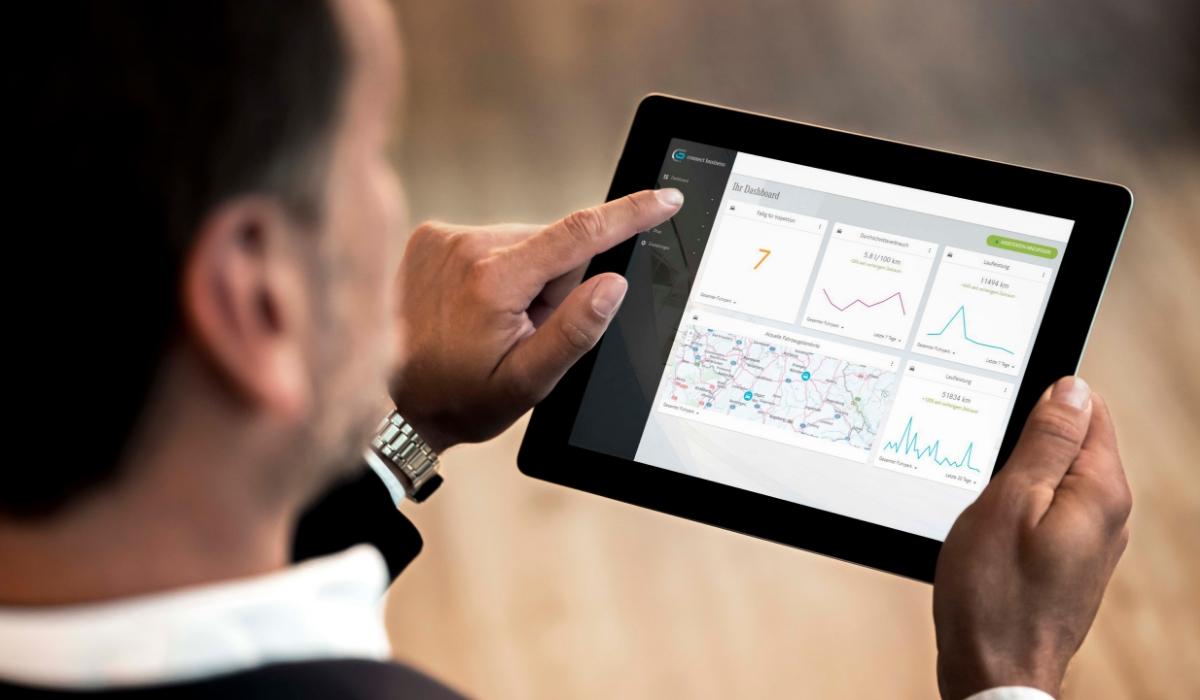 Mercedes Connect Business dati controllo flotta aziendale