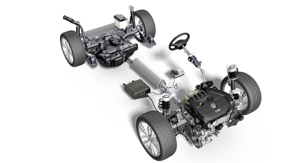 Motore di Volkswagen Golf 1.0 mild hybrid