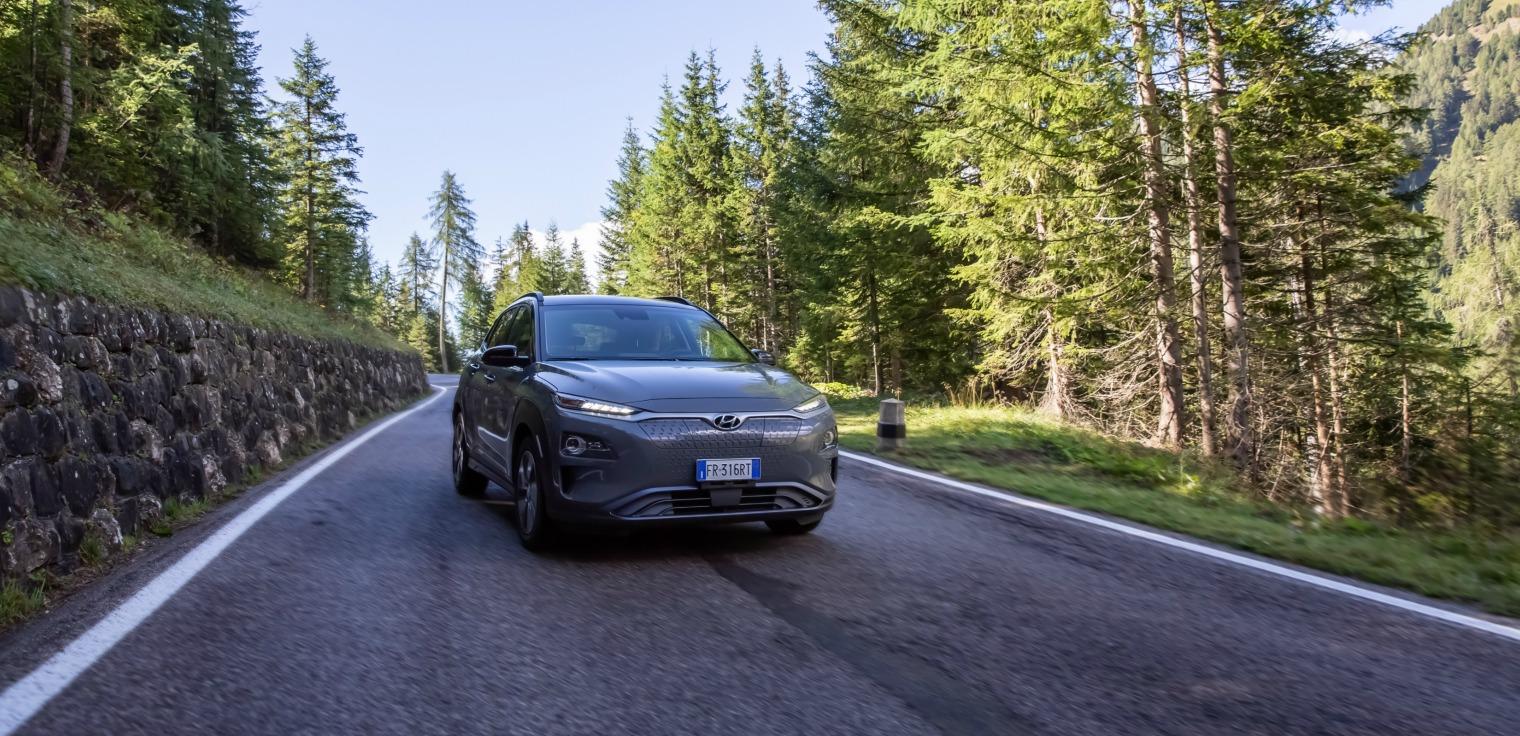 Motori nuova Hyundai Kona Electric