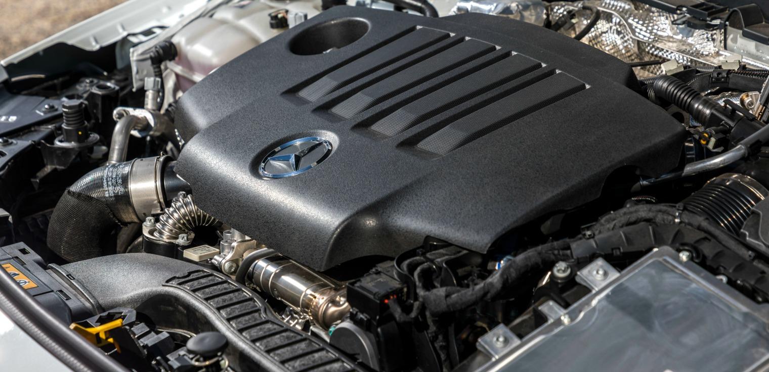 Motori nuova Mercedes CLA Coupe