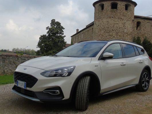 Nuova Ford Focus Active wagon 2019 statica