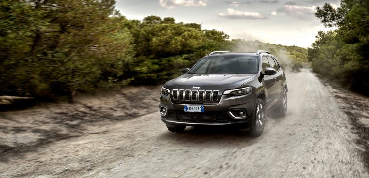 Nuova Jeep Cherokee 2019 test drive