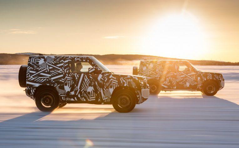 Nuova Land Rover Defender 2020 3 porte