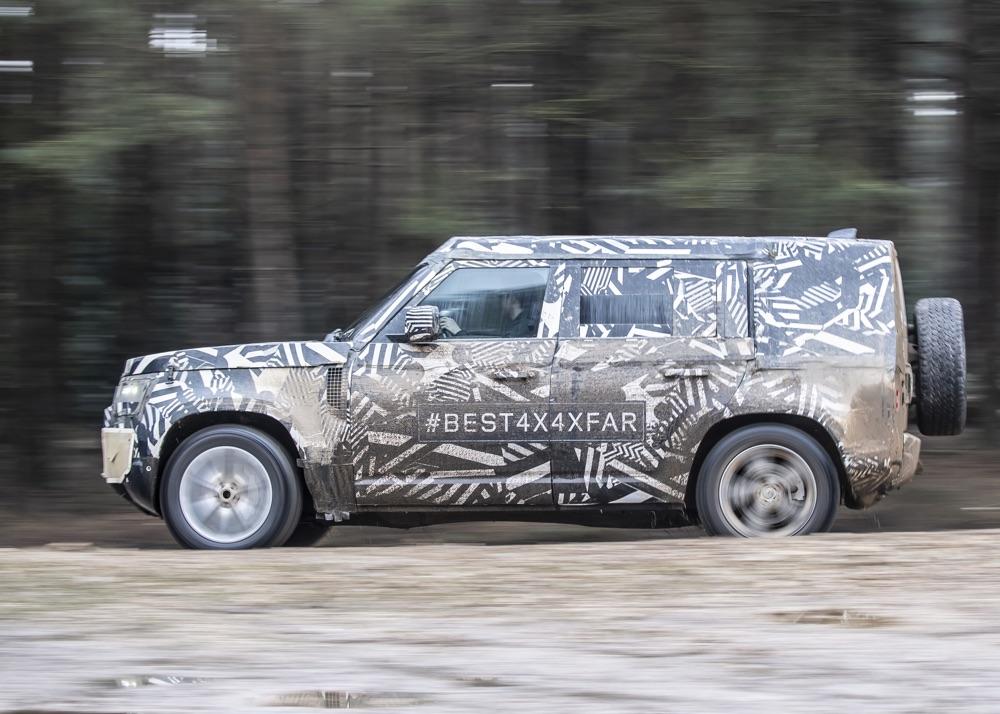 Nuova Land Rover Defender 2020 5 porte