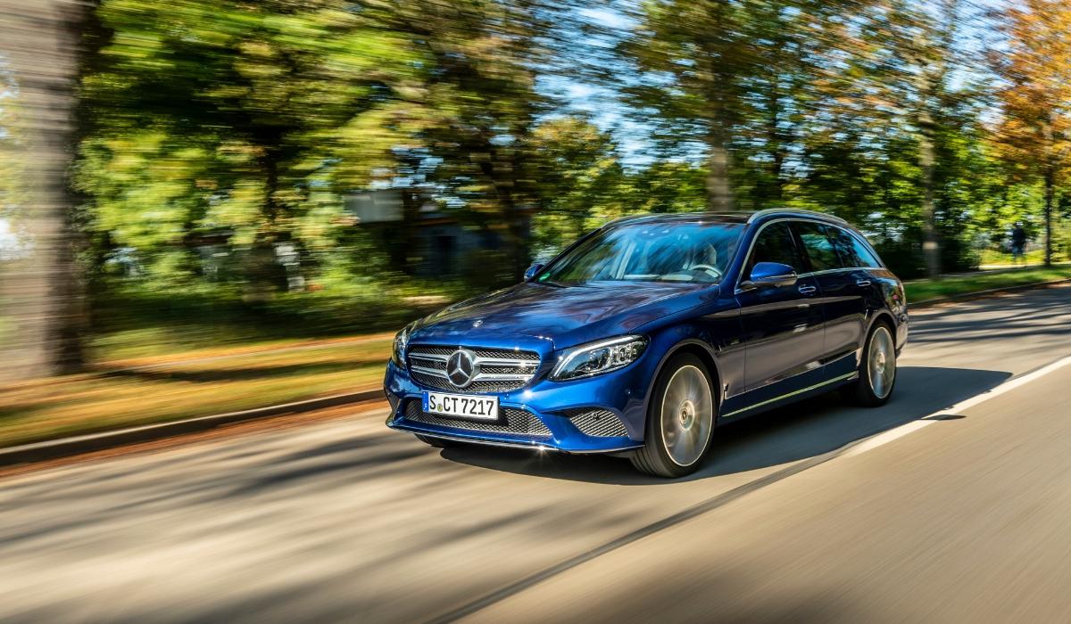 Nuova Mercedes Classe C SW ibrida plug-in diesel 2019