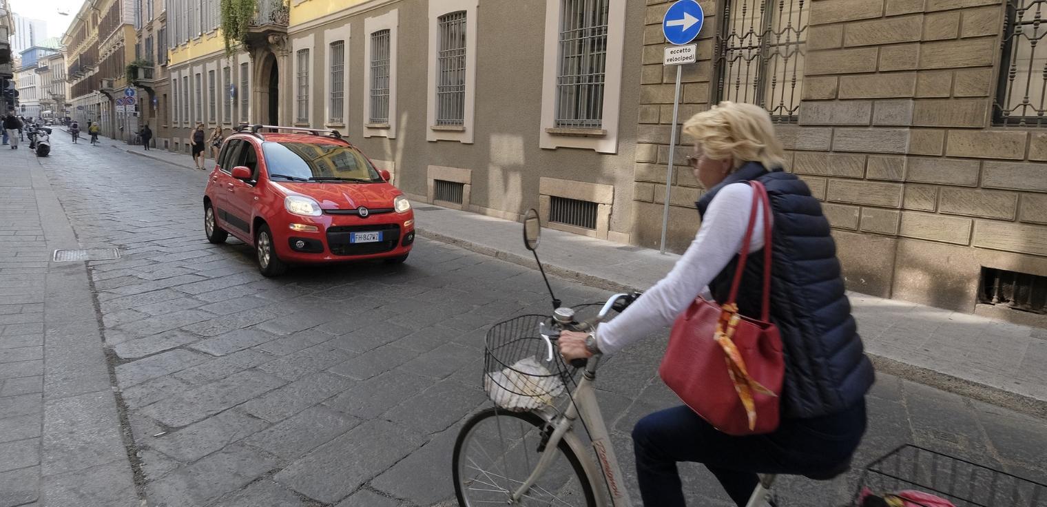 Nuovo Codice della strada 2019 biciclette contromano