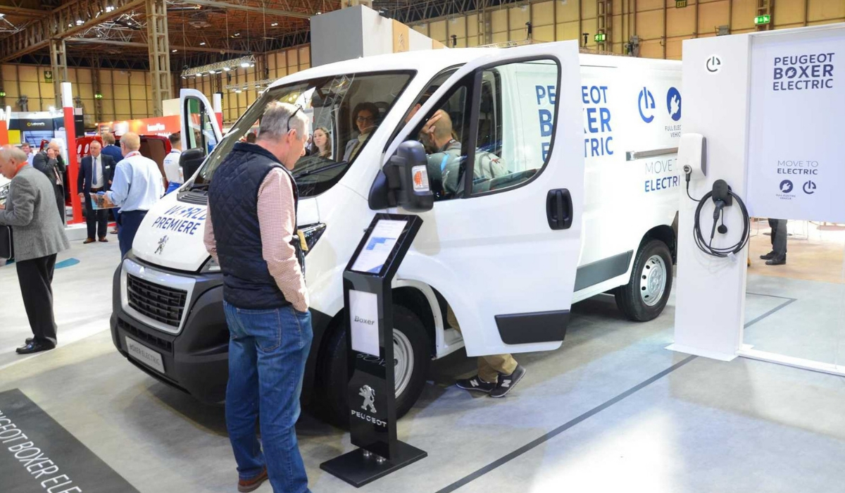 Nuovo Peugeot Boxer Electric veicolo commerciale
