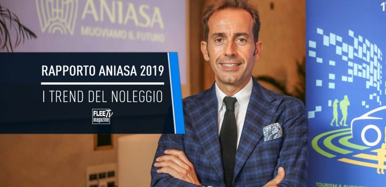 Rapporto Aniasa 2019 dati noleggio auto