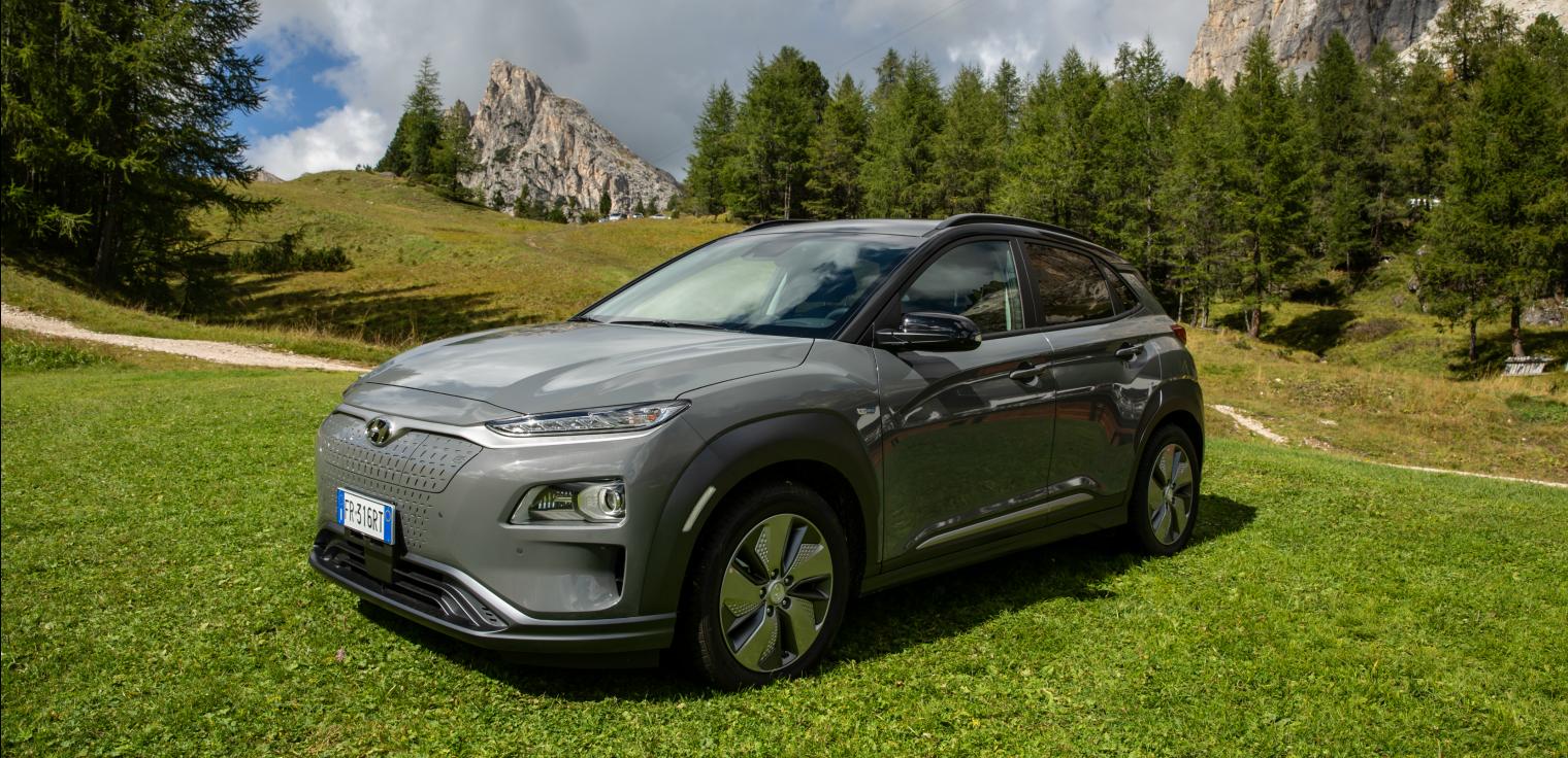 Suv nuova Hyundai Kona Electric