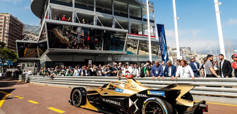 Vergne ePrix Monaco 2019
