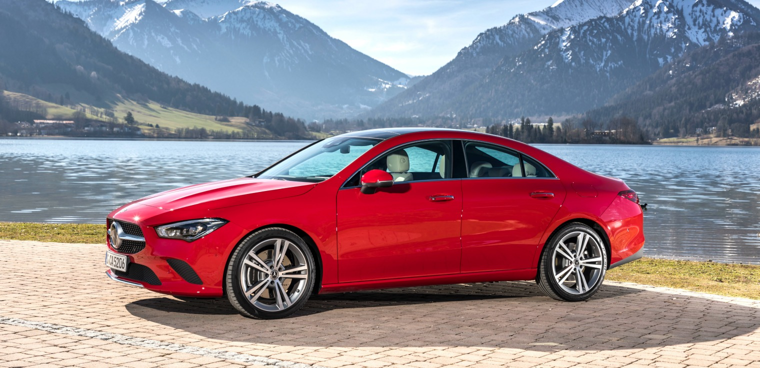 esterni nuova Mercedes CLA Coupe