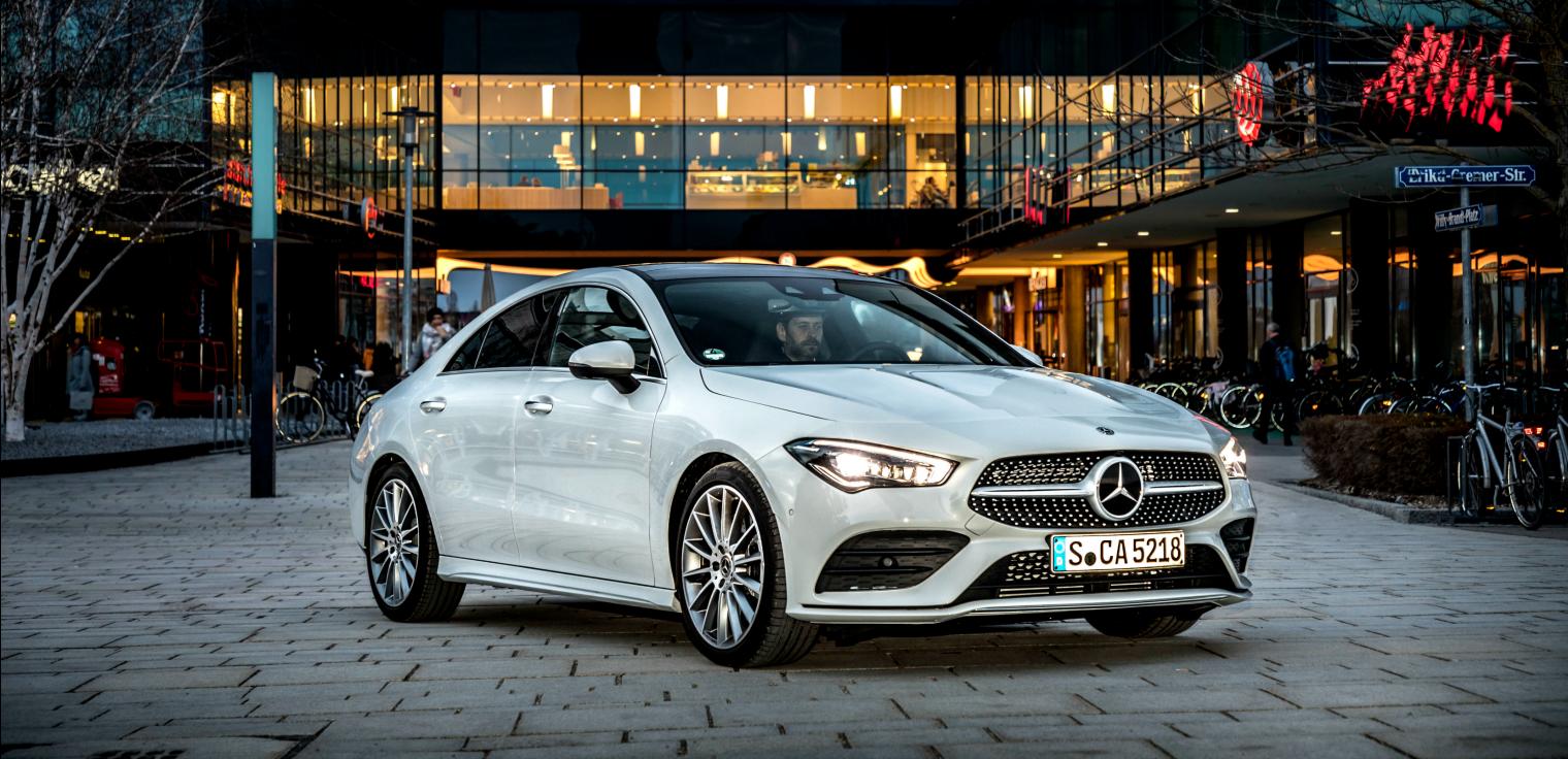 guida nuova Mercedes CLA Coupe