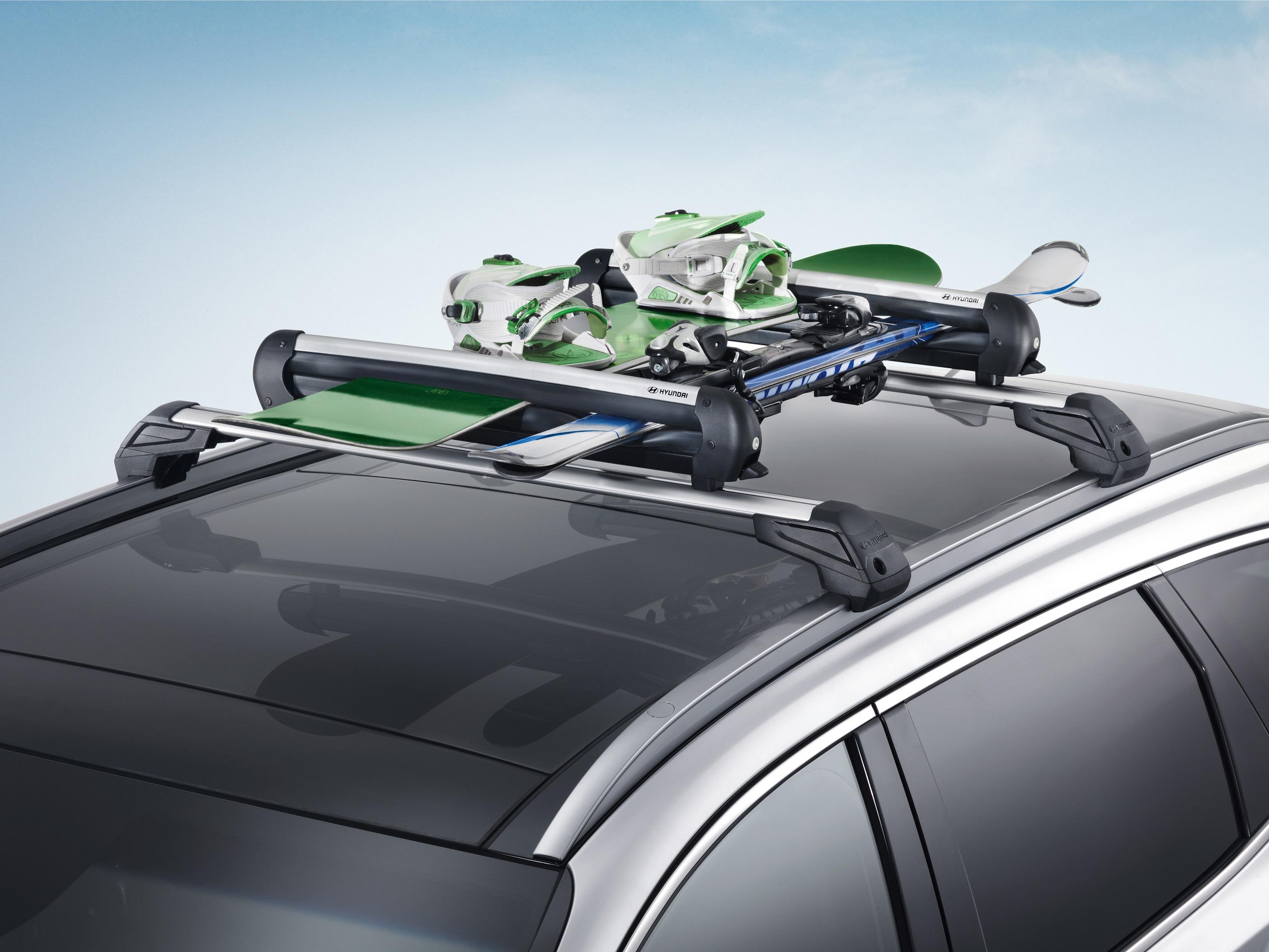 Hyundai FreeTime: noleggio barre porta-sci