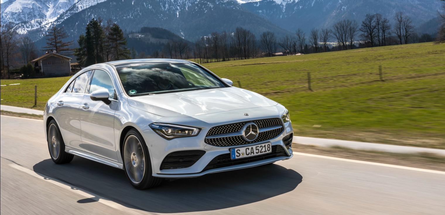 nuova Mercedes CLA Coupe 2019