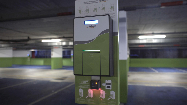 Nuovo Box di ricarica elettrica Duferco