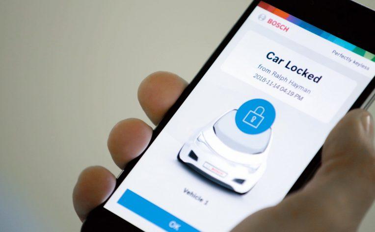 Perfectly Keyleess, la nuova app di Bosch che sostituisce le chiavi dell'auto