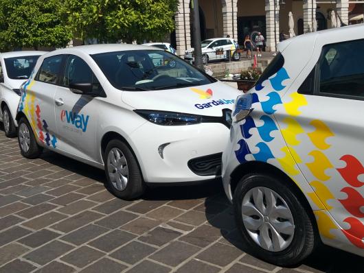 Car sharing elettrico Renault Zoe