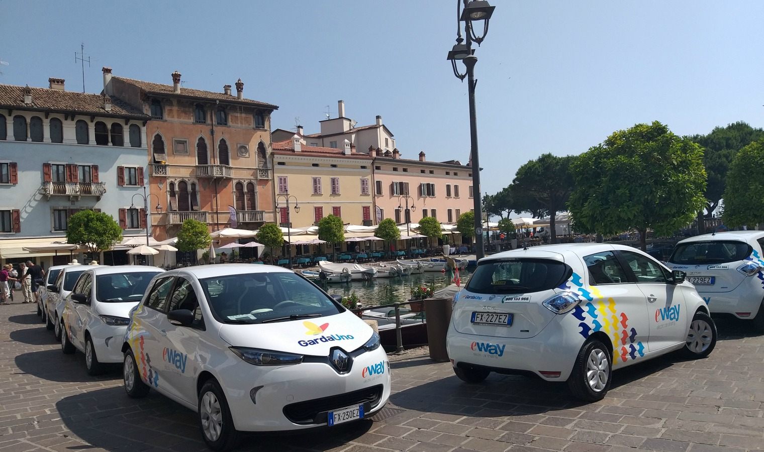 Car sharing elettrico e-way