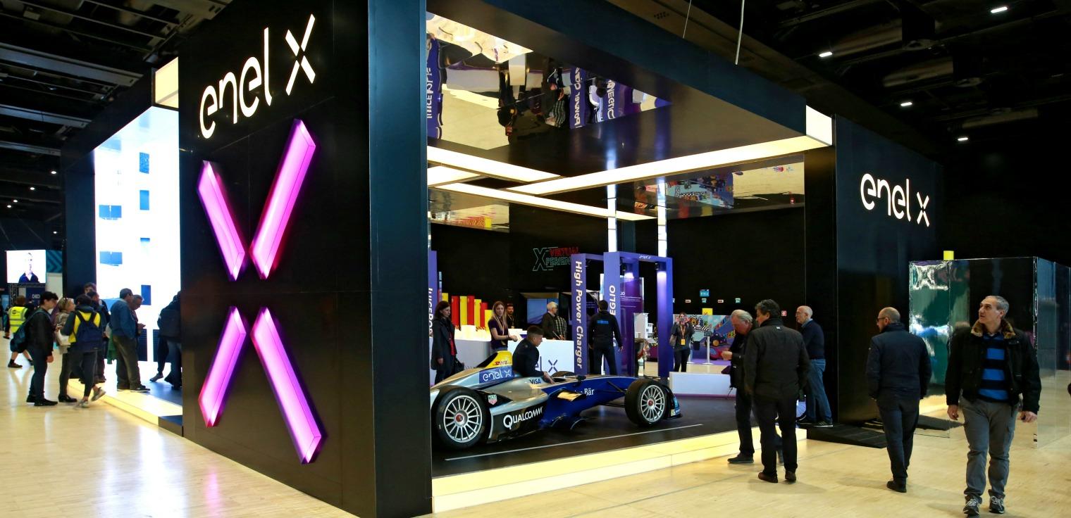 Enel X auto Formula E