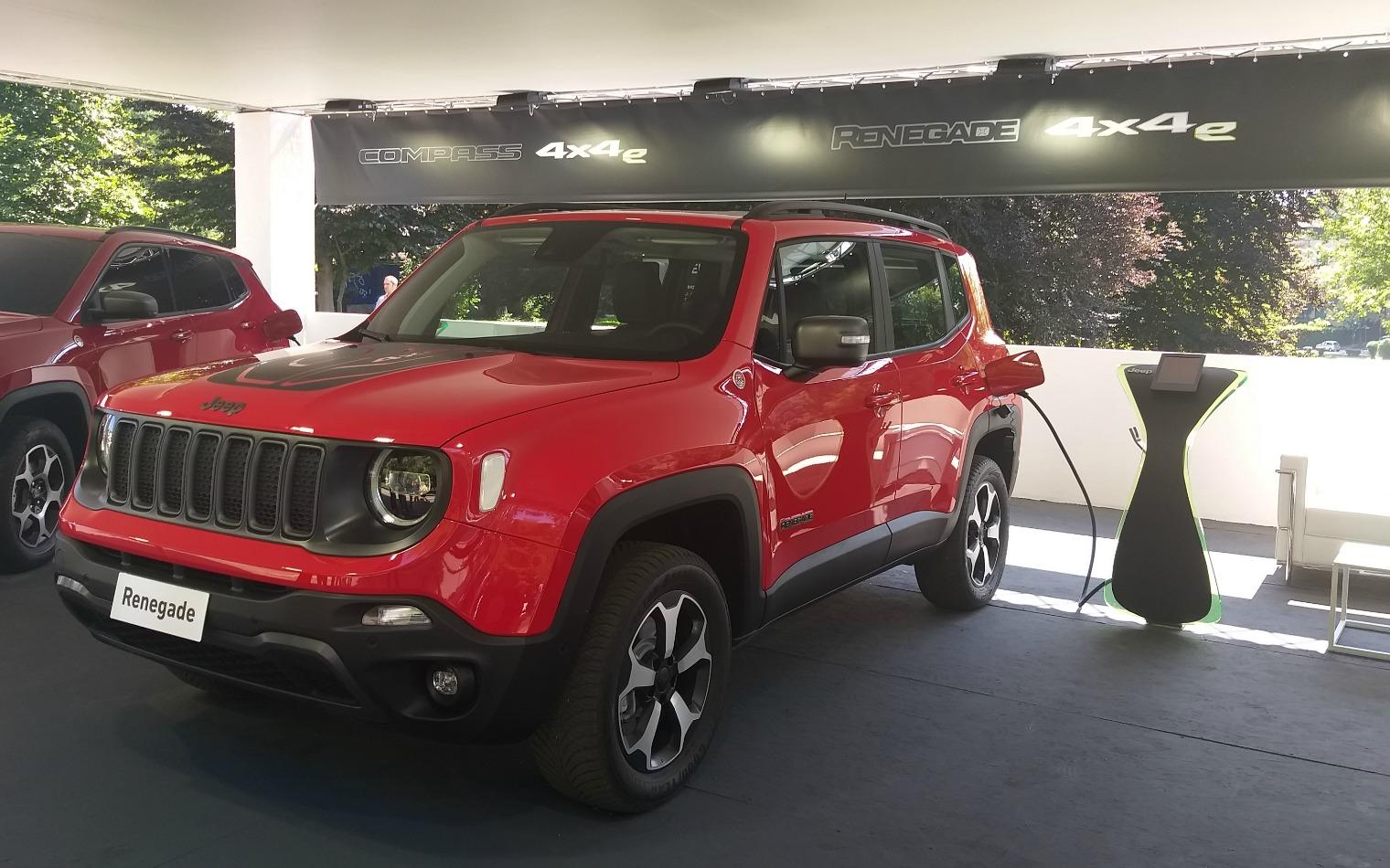 Esterni nuova Jeep Renegade 2019 Salone di Torino