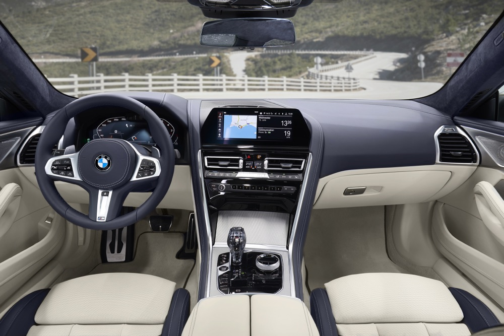 Interni di BMW Serie 8 Gran Coupe