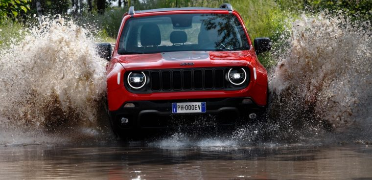 Jeep Renegade ibrida plug-in