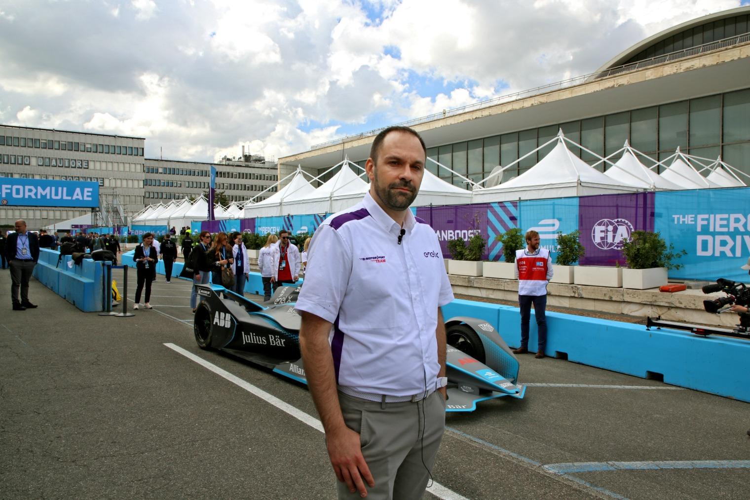 Lucio Tropea Enel X Formula E