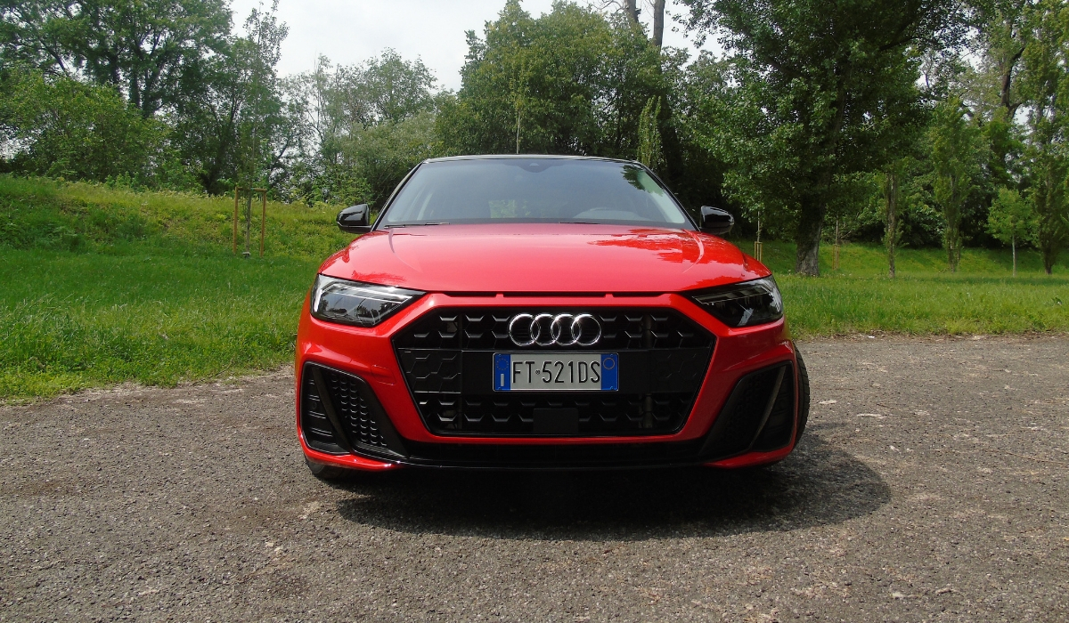 Nuova Audi A1 Sportback 2019 frontale