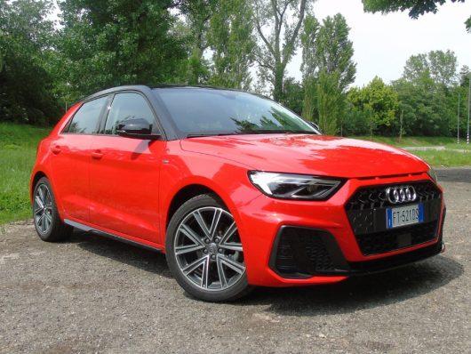 Nuova Audi A1 Sportback 2019 prova